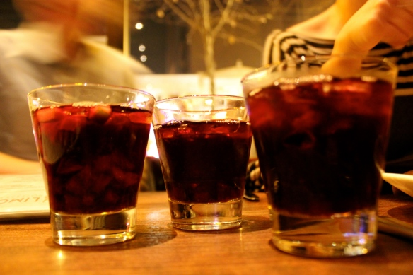 Red Wine Sangria ($30 pitcher)