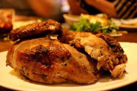 Pollo a la Brasa ($13.95 half-order)