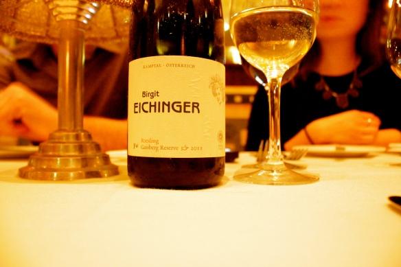 2011 Birgit Eichinger, Riesling, $52